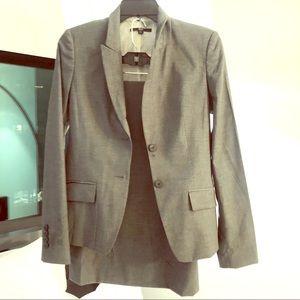 BOSS Hugo Boss Grey Suit Skirt Set